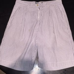 Polo Seersucker Shorts